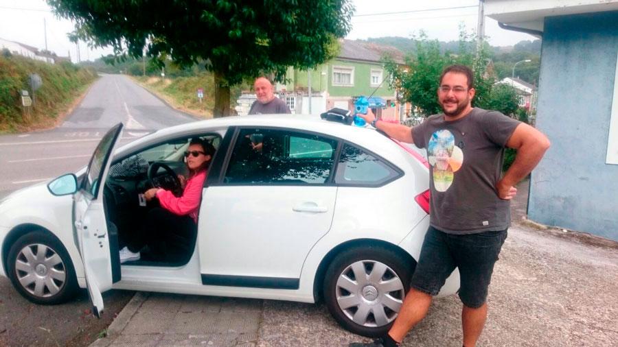 Parking Parking Sarria Agosto 2016